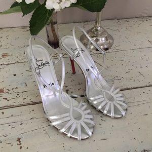 ✨Christian Louboutin heels women's size 38 1/2.